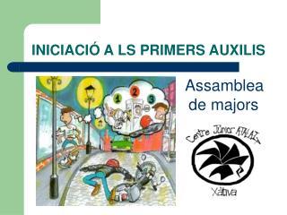 INICIACIÓ ALS PRIMERS AUXILIS