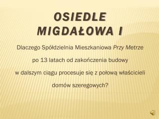 OSIEDLE Migdałowa I
