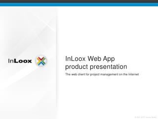 InLoox Web App product presentation