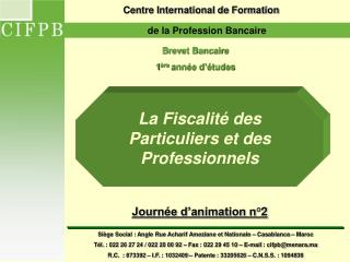 Centre International de Formation
