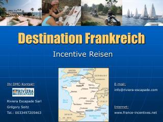 Destination Frankreich