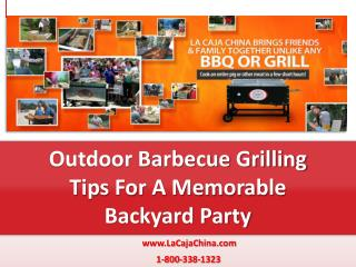 Outdoor Barbecue Grilling Tips For A Memorable Backyard Part