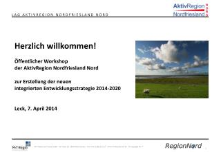 LAG  AktivRegion  Nordfriesland Nord