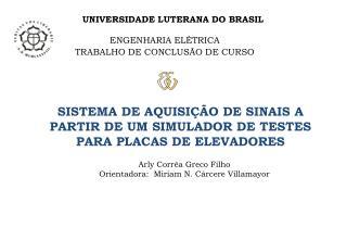 UNIVERSIDADE LUTERANA DO BRASIL