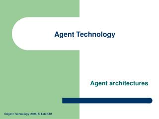 Agent Technology