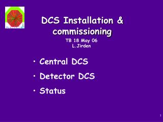 DCS Installation & commissioning