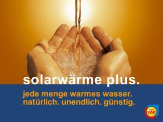 wie funktioniert eine solarwärmeanlage?