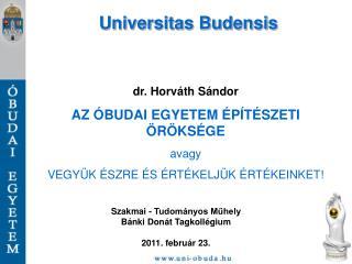 Universitas Budensis