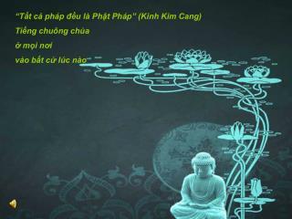 """""""Tất cả pháp đều là Phật Pháp"""" (Kinh Kim Cang) Tiếng chuông chùa ở mọi nơi vào bất cứ lúc nào"""