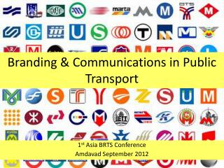 Branding & Communications in Public Transport