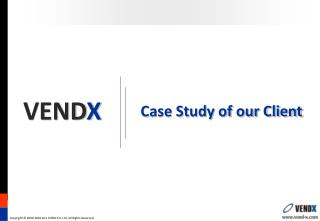 Case Study of our Client