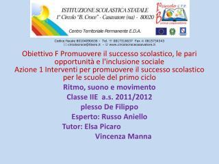 Codice fiscale 80104090636 -  Tel.   0817316637  Fax    0815734343