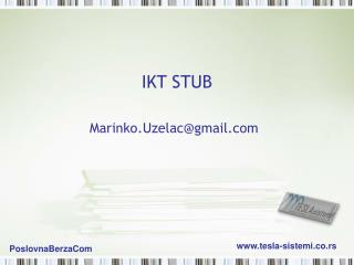 IKT STUB