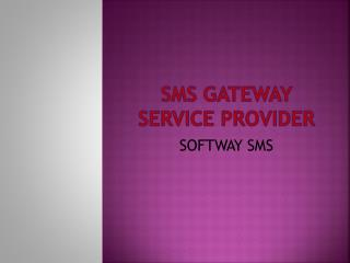 SMS gateway service provider in chennai