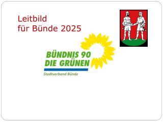 Leitbild  für Bünde 2025