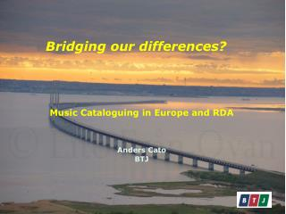 Bridging our differences ?