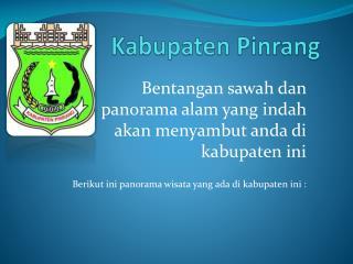 Kabupaten Pinrang