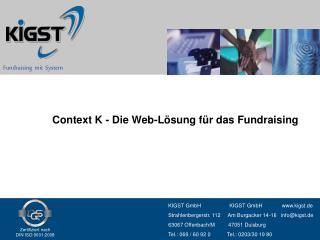 Fundraising  mit  System