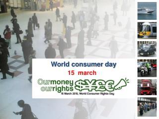 World consumer day
