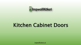 Kitechen Cabinet Doors