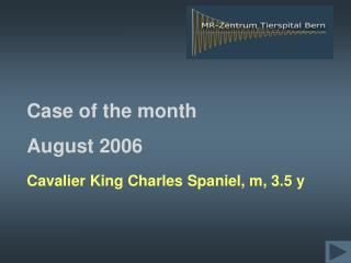 Case of the month  August 2006