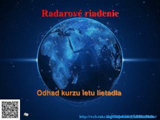 Radarové riadenie