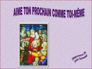 AIME TON PROCHAIN COMME TOI-M ME