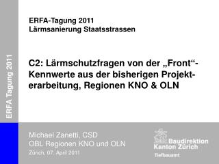 ERFA Tagung 2011