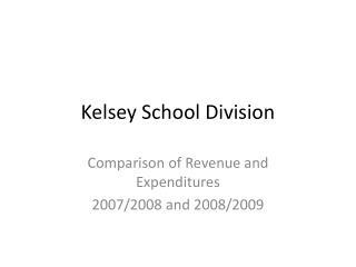 Kelsey School Division
