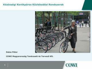 Közösségi Kerékpáros Közlekedési Rendszerek
