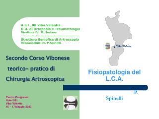 Fisiopatologia del L.C.A. P. Spinelli