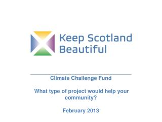 _____________________________________________ Climate  Challenge  Fund