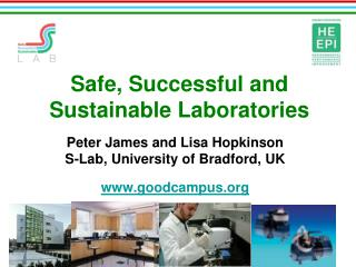 Safe, Successful and Sustainable Laboratories