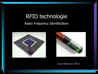 RFID technologie Radio Frequency Identification