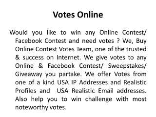 Votes Online