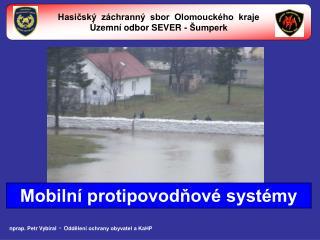 Hasičský  záchranný  sbor  Olomouckého  kraje Územní odbor SEVER - Šumperk