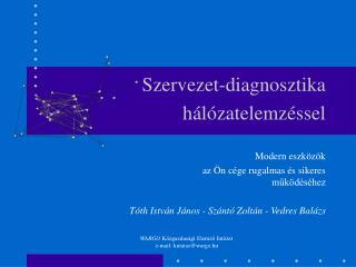 Szervezet-diagnosztika hálózatelemzéssel
