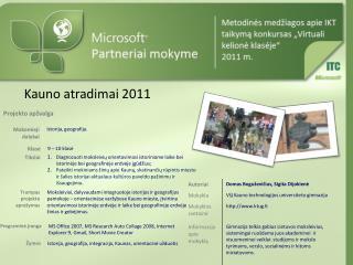 Kauno atradimai 2011