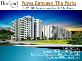 Purva Between The Parks Prelaunch Apartments