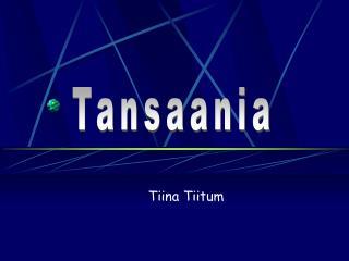 Tiina Tiitum