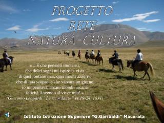 Progetto Rete Natura-Cultura