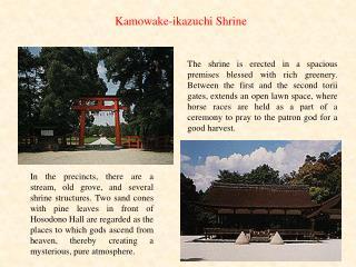 Kamowake-ikazuchi Shrine