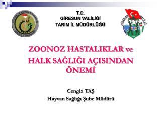 T.C. GİRESUN VALİLİĞİ  TARIM İL MÜDÜRLÜĞÜ