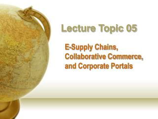 Lecture Topic 05