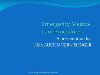 Emergency Medical  Care Procedures