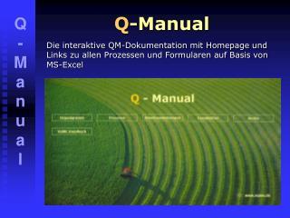 Q -Manual