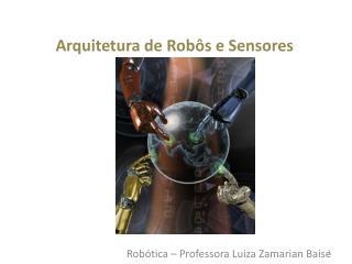 Robótica – Professora Luiza Zamarian Baise