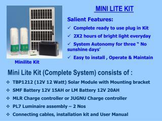 Minilite Kit