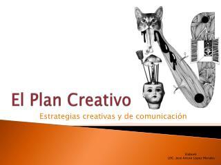 El Plan Creativo