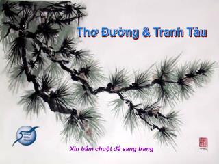 Thơ Ðường & Tranh Tàu